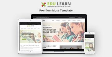 Edulearn Muse template