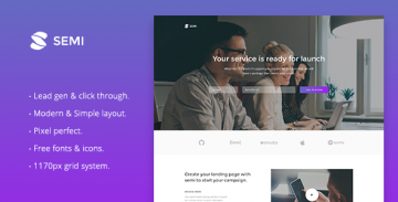 Semi Muse template