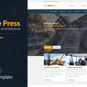 Pithree Muse template