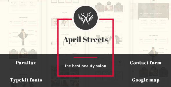 April Streets Muse Template