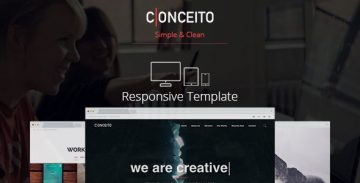 Conceito Muse template