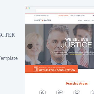 Harvey & Specter Muse Template