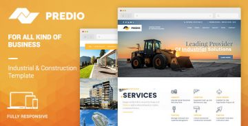 Predio Muse template