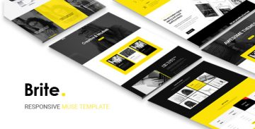 Brite Muse template - Responsive Version